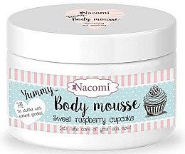Parfums et Produits cosmétiques Mousse à la framboise pour corps - Nacomi Body Mousse