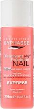 Parfums et Produits cosmétiques Dissolvant vernis à ongles - Byphasse Nail Polish Remover Express