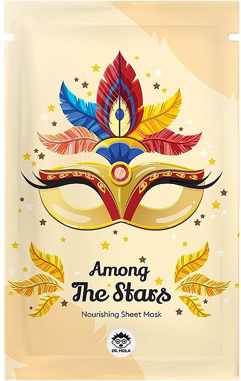 Masque tissu à l'extrait de lait et de miel pour visage - Dr Mola Among The Stars Nourishing Mask