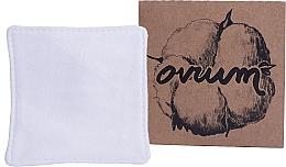 Parfums et Produits cosmétiques Disque démaquillant réutilisable, carré, grand - Ovium