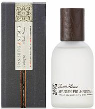 Parfums et Produits cosmétiques Bath House Spanish Fig and Nutmeg - Eau de Cologne
