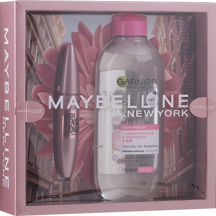 Set (mascara/9.5ml + eau micellaire/400ml) - Maybelline New York