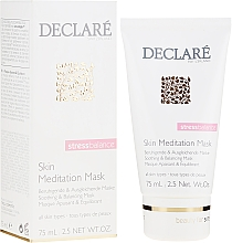 Parfums et Produits cosmétiques Masque à l'huile d'avocat pour visage - Declare Stress Balance Skin Meditation Mask