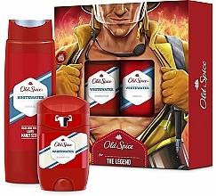 Parfums et Produits cosmétiques Set corps pour homme - Old Spice Whitewater Fireman (déodorant stick/50ml + gel douche/250ml)