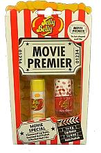 Parfums et Produits cosmétiques Jelly Belly Movie Mix Pack - Set (baume à lèvres/4g + vernis à ongles/4ml + lime à ongles)