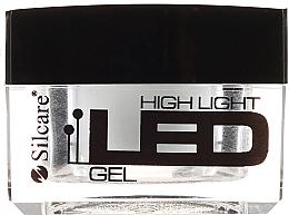 Parfums et Produits cosmétiques Gel de construction des ongles, blanc - Silcare High Light LED White
