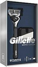 Parfums et Produits cosmétiques Kit de rasage - Gillette Fusion5 ProShield Chill (rasoir/1pc + socle de rasoir)