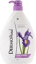Parfums et Produits cosmétiques Savon crémeux Talc et Iris - Dermomed Cream Soap Talc And Iris