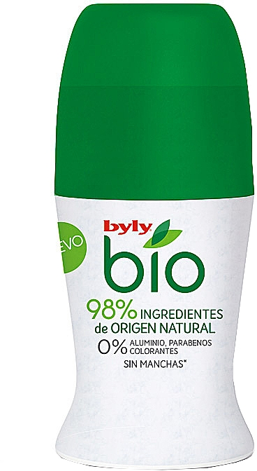 Déodorant - Byly Bio Natural 0% Deo Roll-On — Photo N1