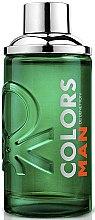 Parfums et Produits cosmétiques Benetton Colors Man Green - Eau de Toilette Homme, verte