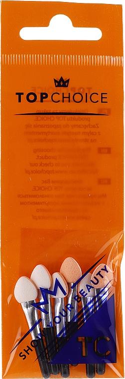 Applicateur de fard à paupières, 35876, 6 pcs - Top Choice Eyeshadow Applicators — Photo N1