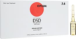 Parfums et Produits cosmétiques Lotion capillaire en ampoules aux protéines de placenta végétale - Simone DSD De Luxe 7.4 Opium Lotion