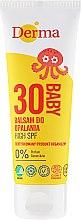 Parfums et Produits cosmétiques Lotion solaire pour enfants SPF 30 - Derma Eco Baby Sun Screen High SPF30