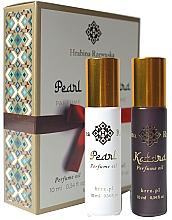 Parfums et Produits cosmétiques Hrabina Rzewuska Katara & Pearl Parfume - Coffret cadeau (huile parfumée/2x10ml)