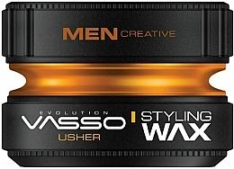 Parfums et Produits cosmétiques Cire coiffante - Vasso Professional Hair Styling Wax Usher