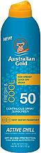 Parfums et Produits cosmétiques Spray solaire - Australian Gold Fresh & Cool Continuous Spray Sunscreen Spf50