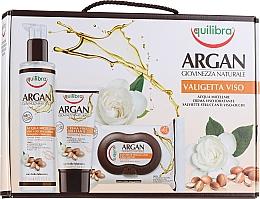 Parfums et Produits cosmétiques Coffret cadeau - Equilibra Viso Argan (micel/water/200ml + wipes/25pcs + f/cr/75ml)
