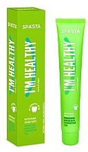 Parfums et Produits cosmétiques Dentifrice naturel multifonction - Spasta I Am Healthy Toothpaste