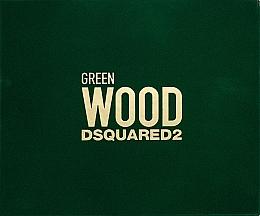 Parfums et Produits cosmétiques Dsquared2 Green Wood Pour Homme - Coffret (eau de toilette/50ml + gel bain et douche/50ml + baume après-rasage/50ml)