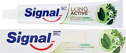 Parfums et Produits cosmétiques Dentifrice protection gencives - Signal Long Active Nature Elements