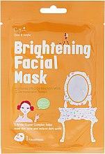 Parfums et Produits cosmétiques Masque en tissu éclaircissant - Cettua Brightening Facial Mask