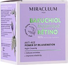 Parfums et Produits cosmétiques Crème de nuit - Miraculum Bakuchiol Botanique Retino Anti-Age Cream