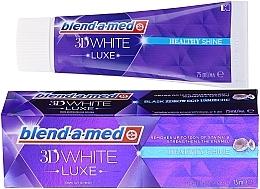 Parfums et Produits cosmétiques Dentifrice blanchissant - Blend-a-med 3d White Healthy Shine Toothpaste