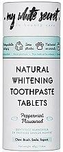 Parfums et Produits cosmétiques Dentifrice blancheur en pastilles saveur menthe - My White Secret Natural Whitening Toothpaste Tablets