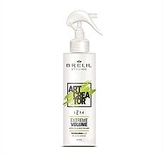 Parfums et Produits cosmétiques Spray volumisant à l'extrait de cactus pour cheveux - Brelil Art Creator Extreme Volume