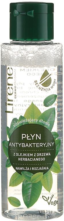 Liquide antibactérien à l'huile d'arbre à thé pour mains - Lirene — Photo N1