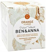 Parfums et Produits cosmétiques Dentifrice au fluorure Orange - Ben & Anna Orange Fluoride Toothpaste
