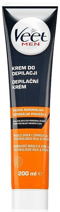 Crème dépilatoire hydratante - Veet Men Silk & Fresh — Photo N1