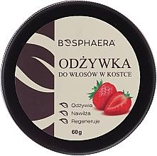 Parfums et Produits cosmétiques Après-shampooing solide aux huiles végétales, boîte métal - Bosphaera