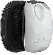 Parfums et Produits cosmétiques Brosse à cheveux compacte - Ikoo Home Black Prima Ballerina