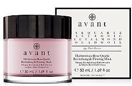 Parfums et Produits cosmétiques Masque revitalisant au quartz rose pour visage - Avant Harmonious Rose Quartz Revitalising & Firming Mask