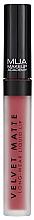 Parfums et Produits cosmétiques Rouge à lèvres liquide mat - MUA Academy Velvet Matte Long-Wear Liquid Lip