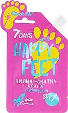 Parfums et Produits cosmétiques Peeling à l'extrait de pamplemousse pour pieds - 7 Days Happy Feet