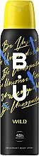 Parfums et Produits cosmétiques B.U. Wild - Déodorant spray