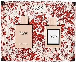 Parfums et Produits cosmétiques Gucci Bloom - Coffret (eau de parfum/50ml + lait parfumé pour corps/100ml)