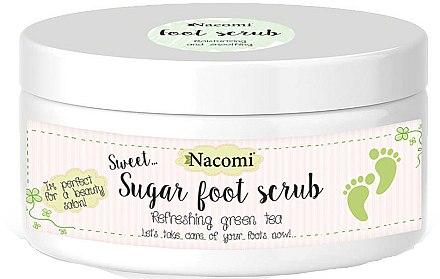Gommage au sucre et thé vert pour pieds - Nacomi Sugar Foot Peeling