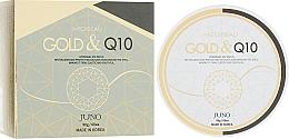 Parfums et Produits cosmétiques Patchs hydrogel à l'or et coenzyme Q10 pour contour des yeux - Juno Medibeau Hydrogel Eye Patches Gold&Q10