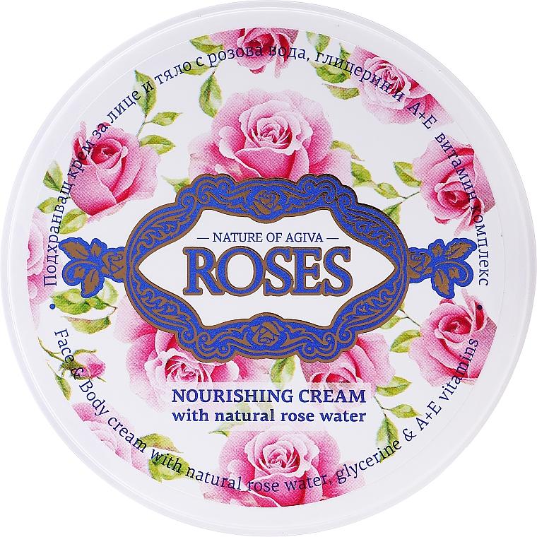 Crème à l'eau de rose pour visage - Nature of Agiva Roses Face Cream