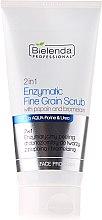 Parfums et Produits cosmétiques Gommage enzymatique à grains fins pour visage - Bielenda Professional Face Program 2in1 Enzyme Peel And Fine Grain Scrub