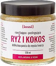 Parfums et Produits cosmétiques Pâte exfoliante et hydratante au riz et noix de coco pour visage - Iossi