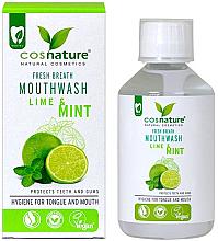 Parfums et Produits cosmétiques Bain de bouche aux extraits de lime et menthe bio - Cosnature