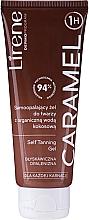 Parfums et Produits cosmétiques Gel autobronzant à l'eau de coco bio pour visage - Lirene Self Tanning Gel Caramel