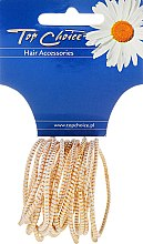 Parfums et Produits cosmétiques Lot de 18 élastiques à cheveux White Collection - Top Choice