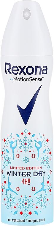 Spray anti-transpirant - Rexona Deospray Winter Dry Limited Edition
