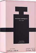 Parfums et Produits cosmétiques Narciso Rodriguez For Her - Coffret cadeau (eau de toilette/100ml + crème corps/75ml)