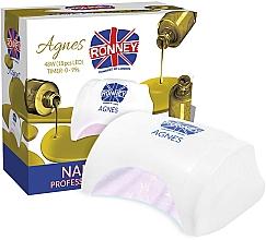 Parfums et Produits cosmétiques Lampe LED, blanc - Ronney Profesional Agnes LED 48W (GY-LED-032)